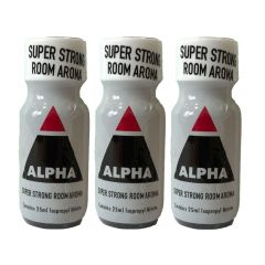 Alpha - 25ml Super Strong Aroma - 3 Pack
