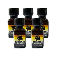 Bear Leather Cleaner Poppers - 24ml - 5 Pack