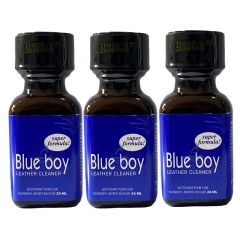 Blue Boy Leather Cleaner Poppers - 24ml - 3 Pack