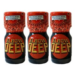 Elbow Deep - Extra Strong Aroma - 10ml - 3 Pack