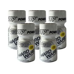 Hardware Leather Cleaner Poppers - 10ml - 5 Pack