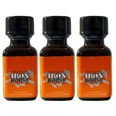 Iron Horse Leather Cleaner Poppers - 24ml - 3 Pack
