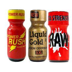 Power Rush 25ml-Liquid Gold XXL-Raw Multi