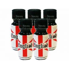English Aroma - 25ml - 5 Pack