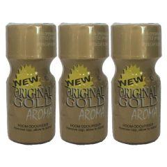 Original Gold Aroma - 10ml - 3 Pack