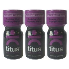 Titus Extra Strong Room Aroma - 10ml - 3 Pack