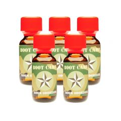 Boot Camp Aroma - 25ml- 5 Pack