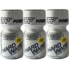 Hardware Leather Cleaner Poppers - 10ml - 3 Pack