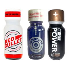 Red Bullet-Potent Blue-Xtreme Power Multi