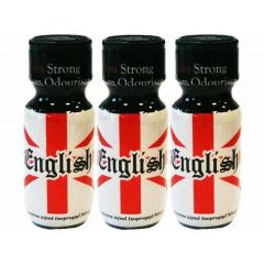 English Aroma - 25ml - 3 Pack