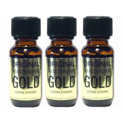 Original Amsterdam Gold Aroma - 25ml Extra Strong - 3 Pack